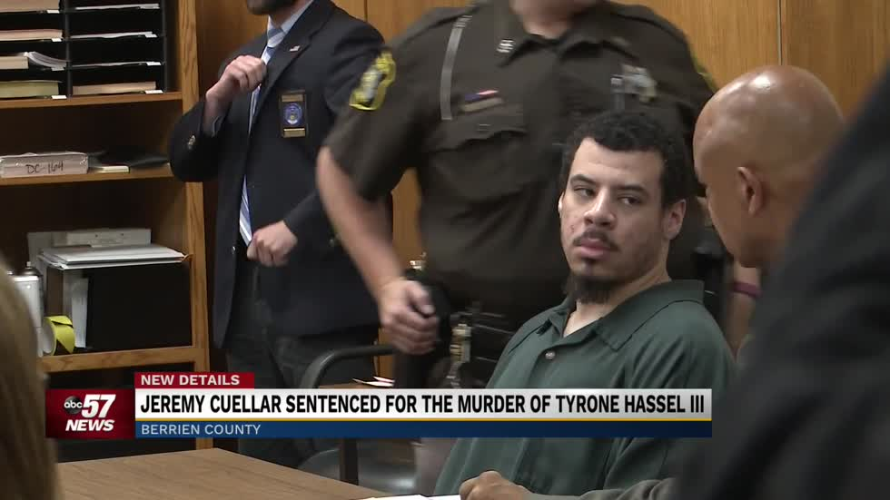 Jeremy Cuellar sentenced for the murder of Tyrone Hassel III