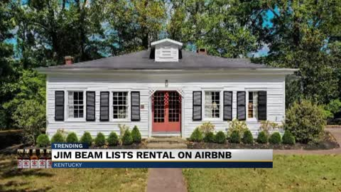 Jim Beam Airbnb rental to cost the price of a bourbon bottle