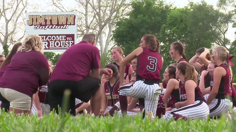 Jimtown comeback bid falls short in softball regionals