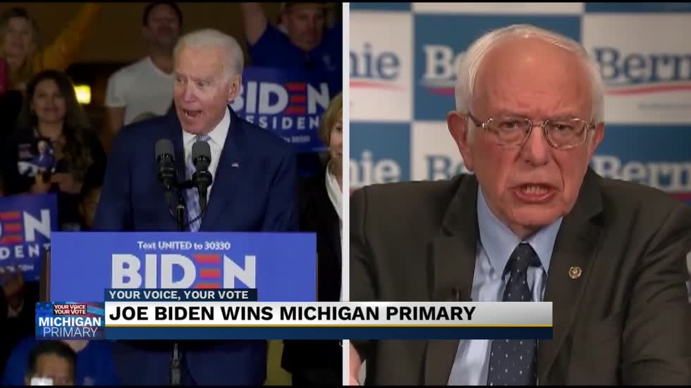 Joe Biden wins Michigan Primary