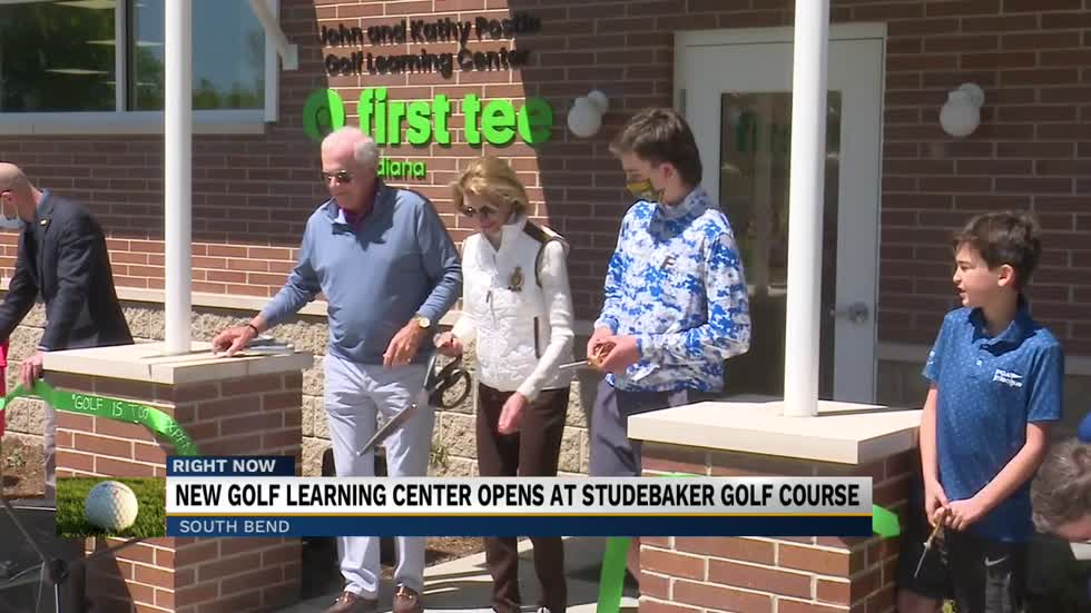 John and Kathy Postle Golf Learning Center hosts grand opening