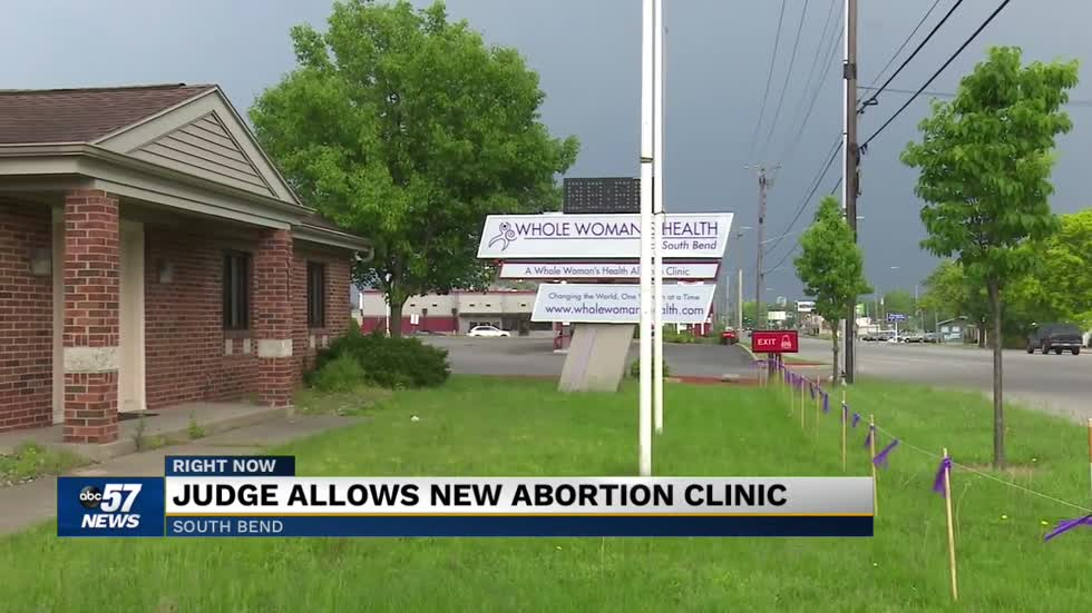 South Bend abortion clinic set to open; Opponents and clinic officials react to judge's ruling