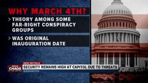 Update on the U.S. Capitol Building security