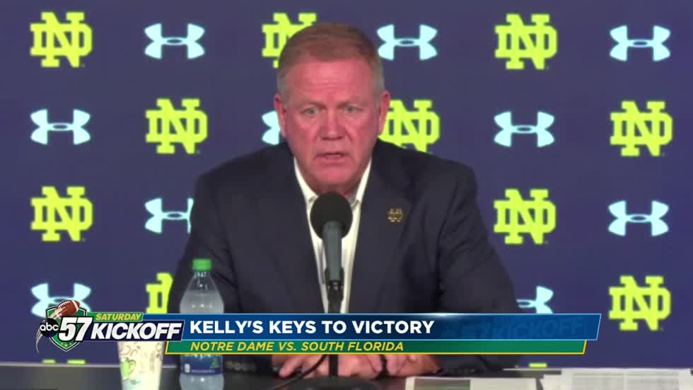 Kelly's Keys to victory against USF