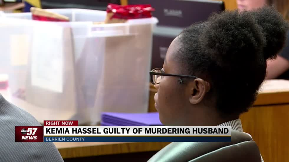 Kemia Hassel guilty in murder of her husband Tyrone Hassel III
