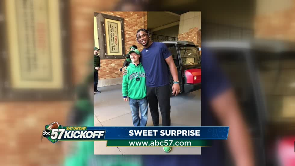 Khalid Kareem's sweet suprise for fan Griffin Sotok
