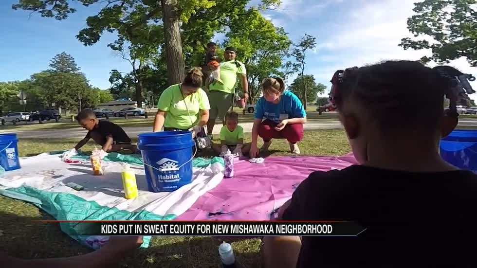 "Kids earn ""sweat equity"" for Habitat for Humanity homes"