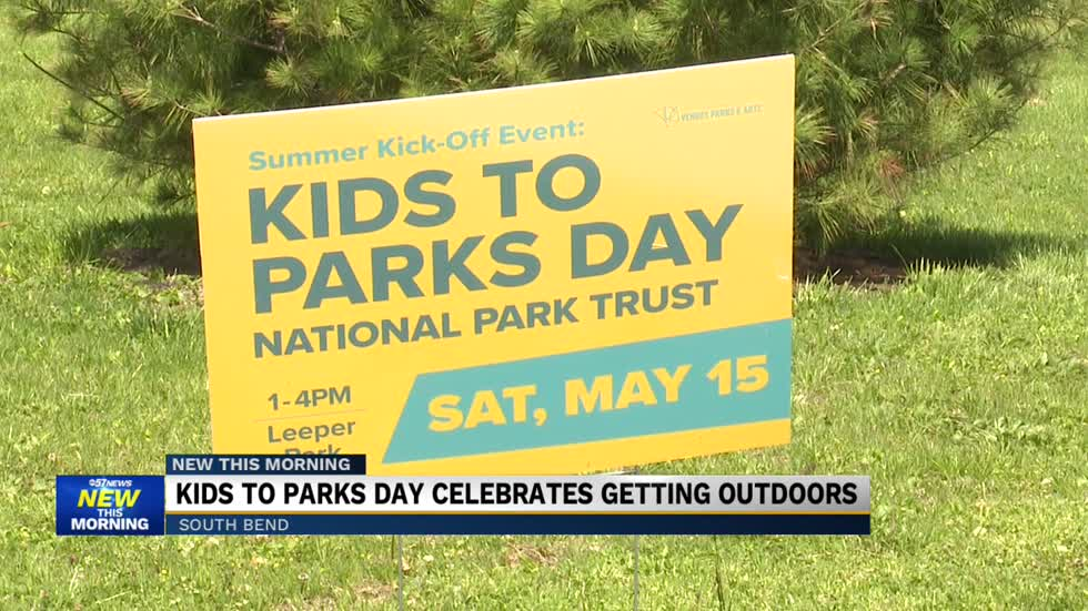Celebrate National 'Kids to Parks Day' today at Leeper Park...