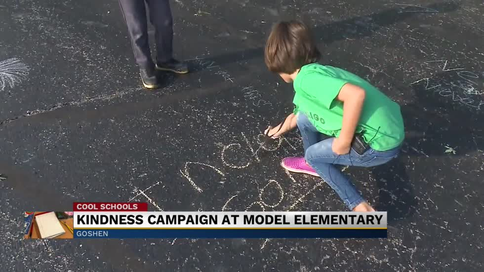 Cool Schools: Kindness campaign underway at Model Elementary