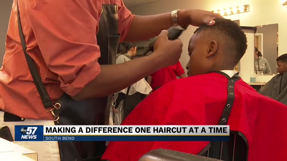 Kintae Lark: Making a difference one haircut at a time
