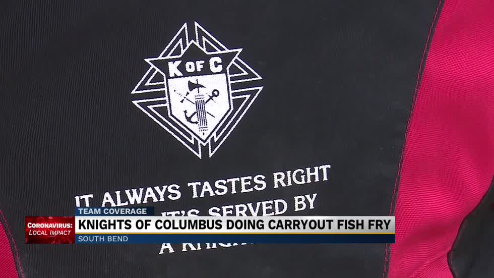 Knights of Columbus fish fry converted into drive-thru