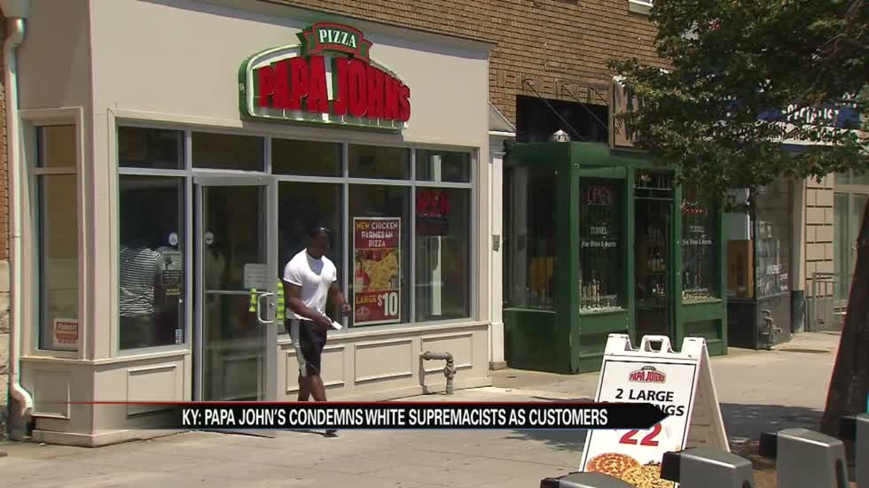 White supremacy publication claims Papa John's as their official pizza