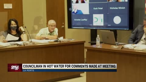 La Porte councilman under hot water for comments made during...