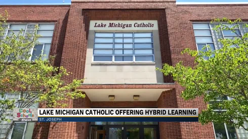 Lake Michigan Catholic introduces live classroom model for upcoming school year