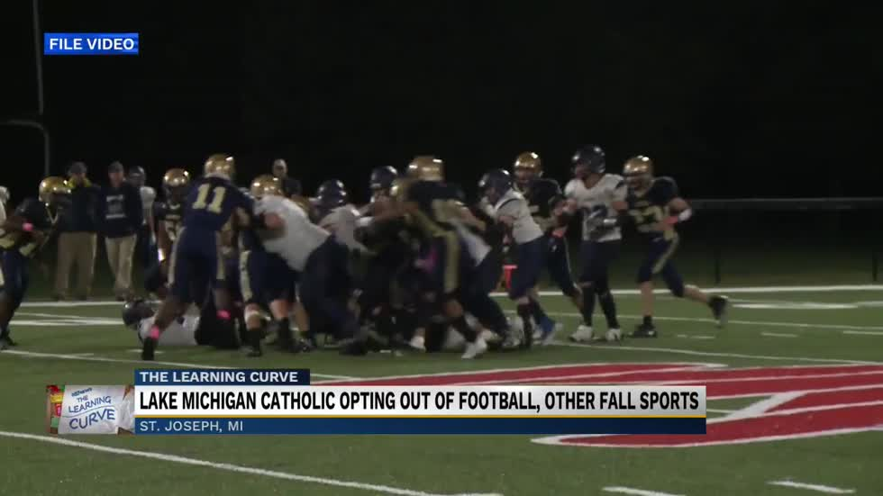 Lake Michigan Catholic Schools opting out of football, volleyball, soccer