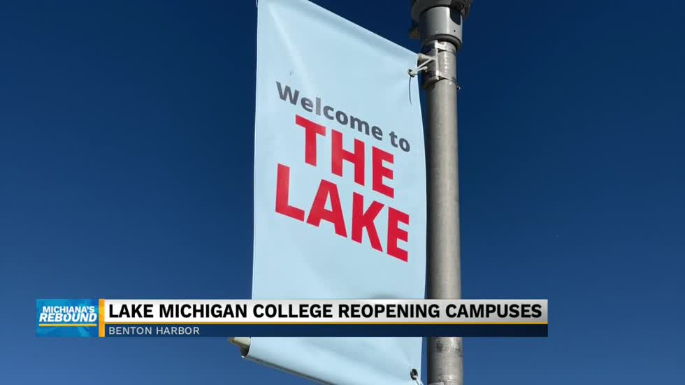 Lake Michigan College campus opens for first time in four months