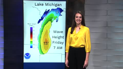 Big waves and big wind bring more erosion Friday