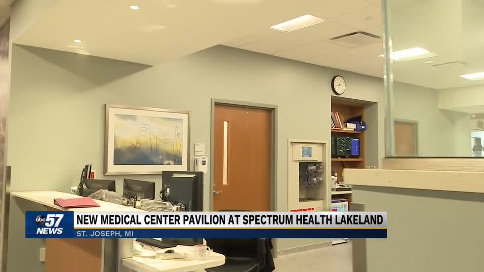 Spectrum Health Lakeland giving tours of new medical center