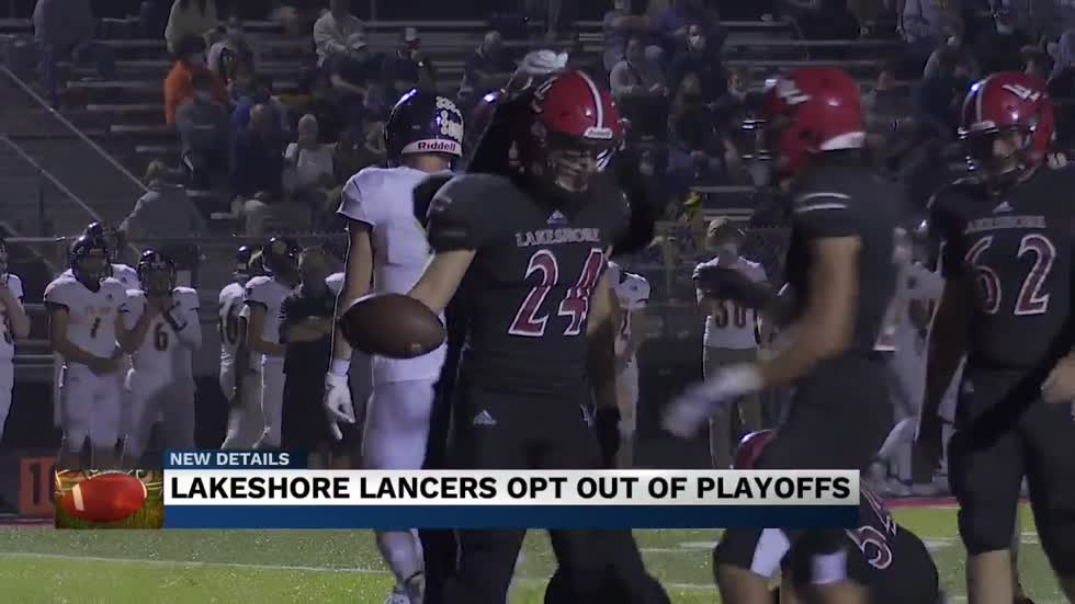 Lakeshore Lancers opt out of football playoffs