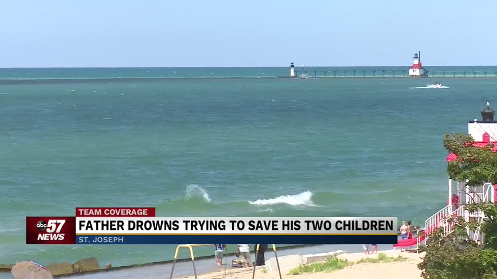 Lakeville man drowns at Lions Park Beach trying to save his two kids