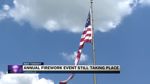 Lakeville to host Fourth of July fireworks show