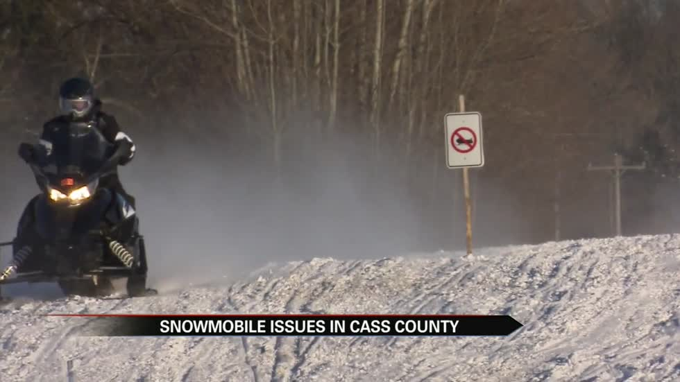 Landowners fed up after snowmobilers continue to disregard marked trails