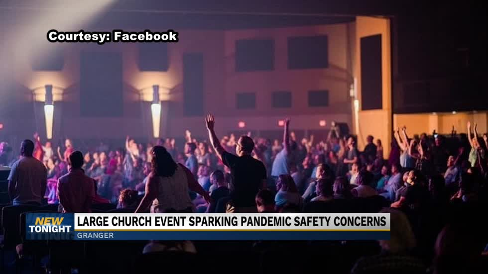 Large church event sparks pandemic safety concerns
