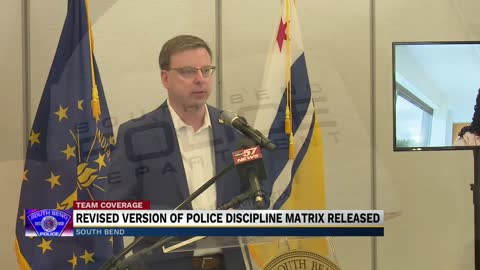 Latest version of police discipline matrix presented during press conference