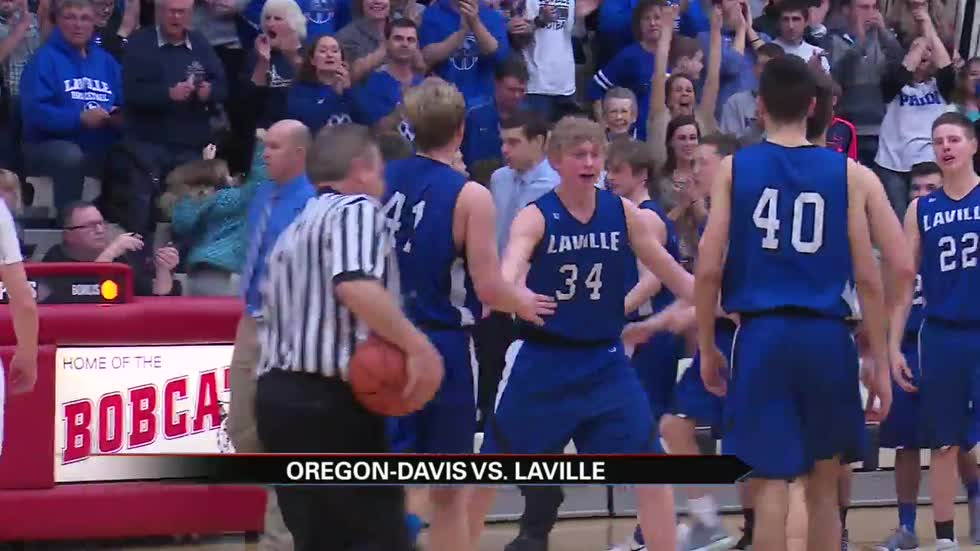 LaVille boys hoops top Oregon-Davis to complete perfect regular season