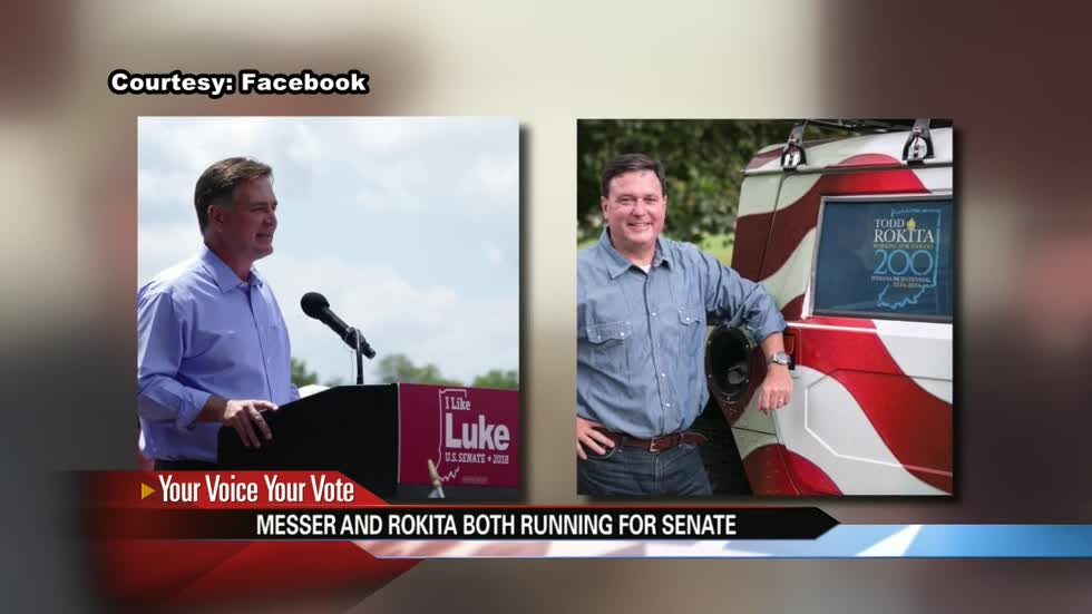 Leading Sen. Donnelly challengers discuss campaign