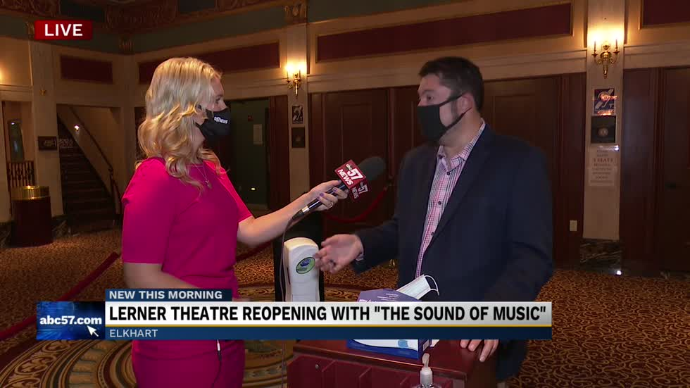 "Lerner Theatre reopening with ""The Sound of Music"" 1"