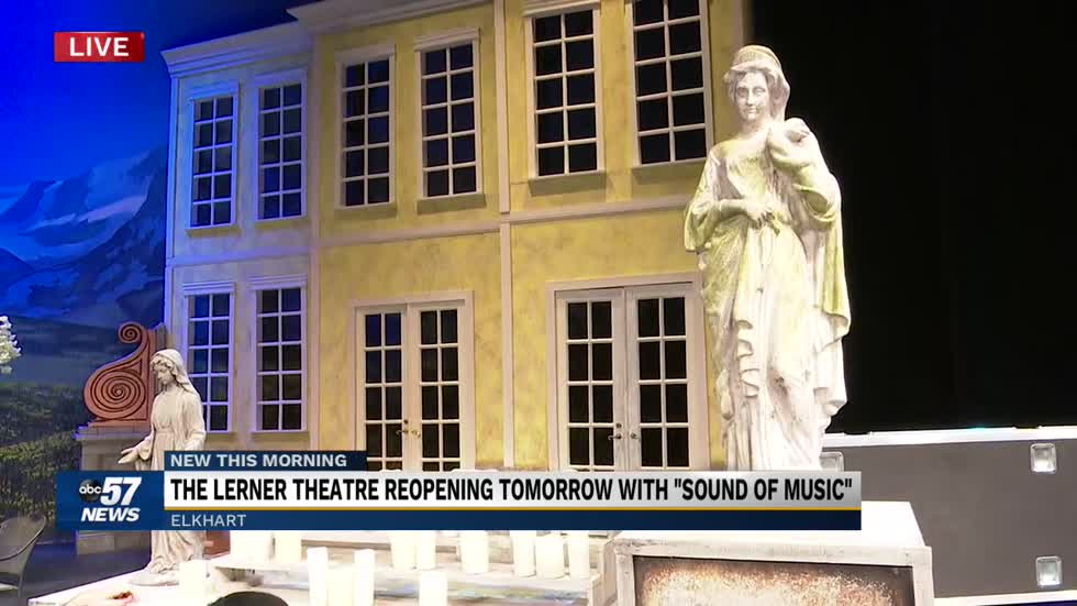 "Lerner Theatre reopening with ""The Sound of Music"" 6"