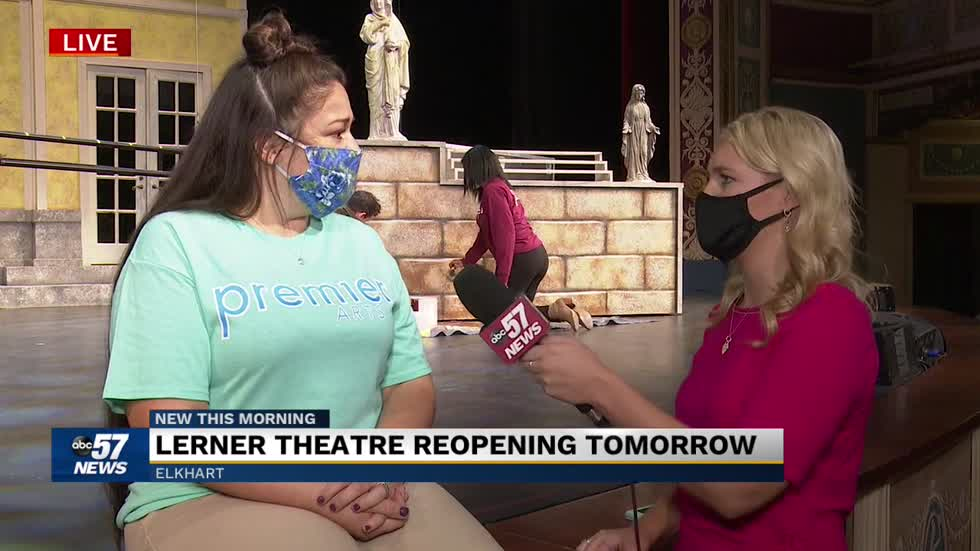 "Lerner Theatre reopening with ""The Sound of Music"" 7"