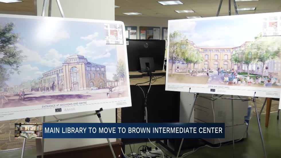 Library, school district share information on temporary move to Brown Intermediate