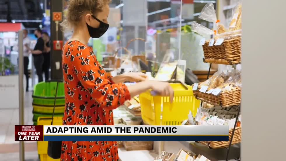 A look at how life is different one year into a global pandemic