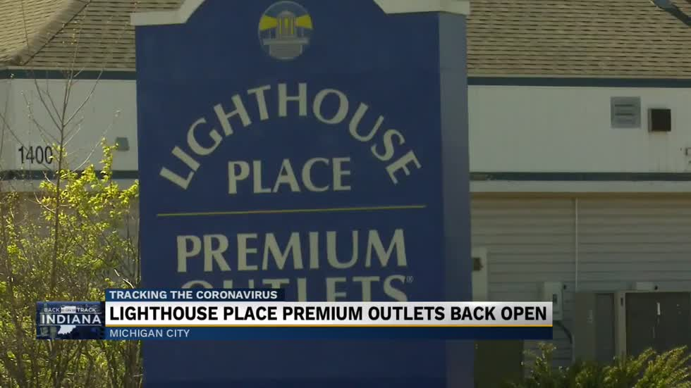 Lighthouse Place Premium Outlets opens in Michigan City