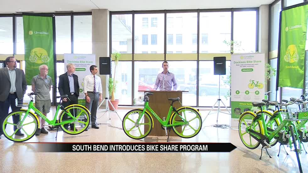 LimeBike offers a new transportation option for South Bend