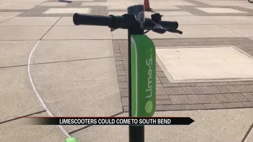 LimeBike introduces electric scooters as a possibility for South Bend