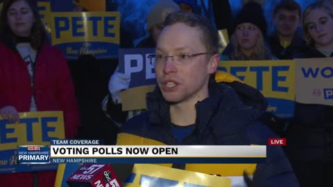 Live interview with New Hampshire voter supporting Buttigieg