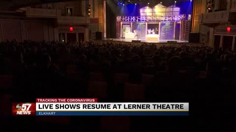 Live shows returning to Lerner Theater