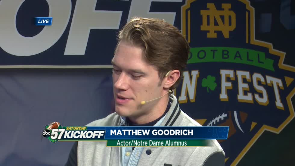Live with Matthew Goodrich, star of Sorin: A Notre Dame Story