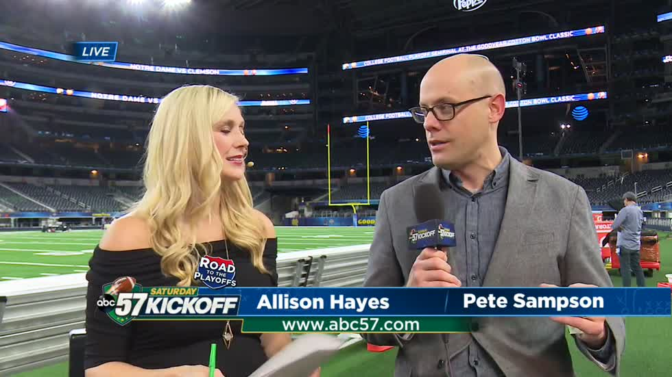 Live with Pete Sampson: Cotton Bowl Classic