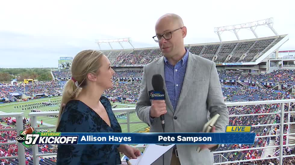 Live with Pete Sampson: Notre Dame at the Camping World Bowl