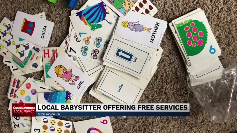 Local babysitter offering free services
