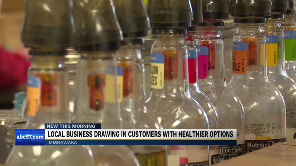 Local business drawing in customers with healthier options
