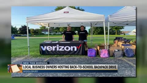 Local business owners giving away 700 free backpacks