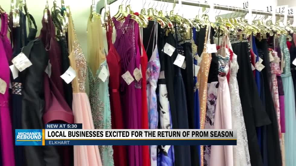 Local businesses excited for the return of prom season