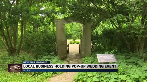 Local businesses in Michiana joining the pop-up wedding trend