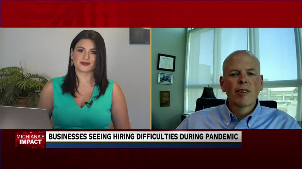 Local businesses seeing hiring difficulties amid the pandemic