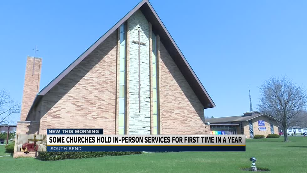 Local church welcomes back congregation for Easter